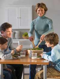 89% счастливых семей завтракают вместе 3 раза в неделю